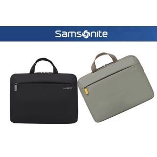 【Samsonite 新秀麗】DENDI-ICT BP5*001-13.3吋 筆電手提包 附肩背帶(電腦包)