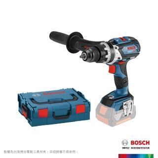 【BOSCH 博世】18V鋰電免碳刷震動電鑽_空機+系統工具箱(GSB 18V-85 C)