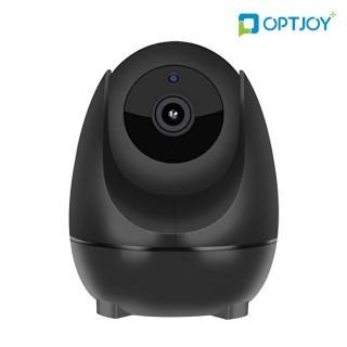 【OPTJOY】智慧移動追蹤-無線網路監控攝影機 黑色(QC21)