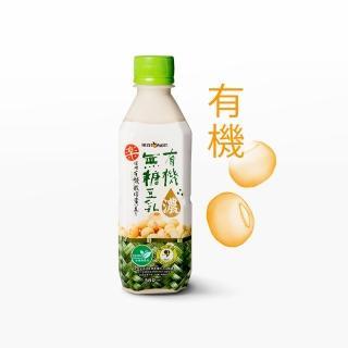 【統洋TOPMOST】無糖有機濃豆乳(360ml*12入/箱)
