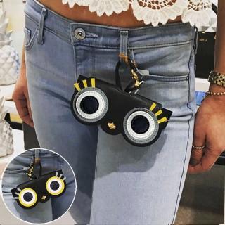 【Seoul Show首爾秀】大眼睫毛外掛墨鏡收納包光學眼鏡保護夾太陽眼鏡盒(墨鏡平光近視老花)