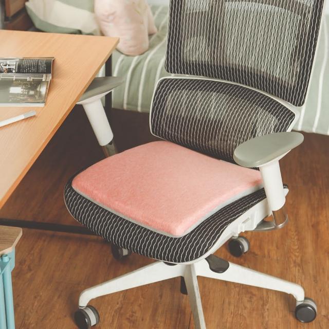 【完美主義】多功能粉嫩記憶坐墊/和室墊/椅墊-1入(二色可選)/