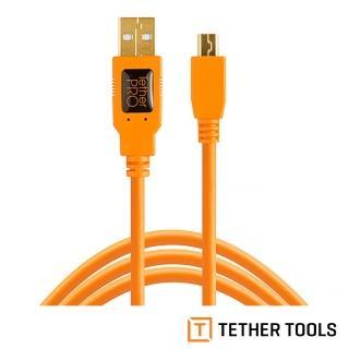 【TETHER TOOLS】CU5451 USB 2.0 轉 MINI B 5PIN(正成公司貨)