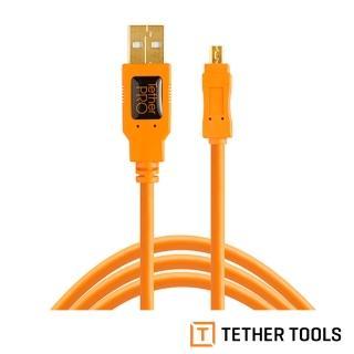【TETHER TOOLS】CU8015-ORG USB2.0 轉 Mini B 8Pin(正成公司貨)