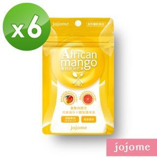【jojome】專利非洲芒果膠囊(6袋入)