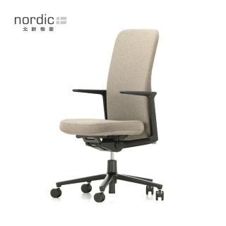 【北歐櫥窗】Vitra Pacific Chair 太平洋辦公椅(中背、燕麥白)