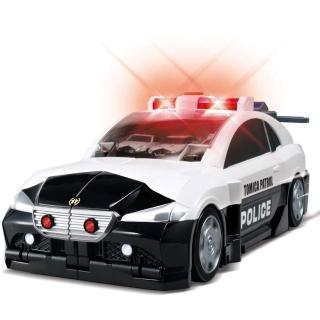 【TOMICA】交通世界 巨大變形警察基地(小汽車 場景)
