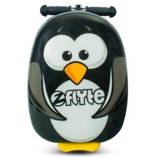 【Zinc Flyte】18吋多功能滑板車行李箱-波西企鵝(滑板車、行李箱)
