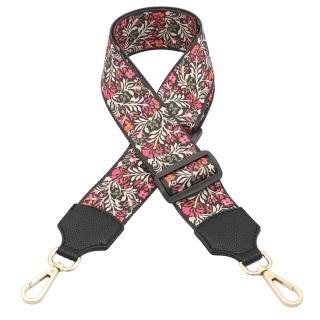 【米蘭精品】帆布肩背帶(彩色編織寬版可調節包包背帶6款73ve27)