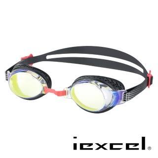 【iexcel】專業光學度數泳鏡 VX-958(蜂巢式 電鍍)