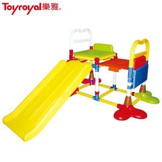 【Toyroyal 樂雅】溜滑梯/10m以上(大型玩具)