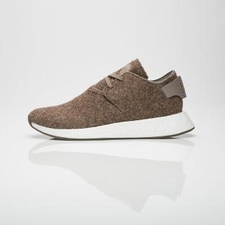 【adidas 愛迪達】NMD C2 WH CHUKKA WINGS+HORNS 聯名 羊毛 棕色 男鞋 高統(CG3781)