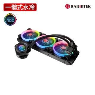 【RAIJINTEK】ORCUS 360 RBW RGB一體式液態散熱器-360mm