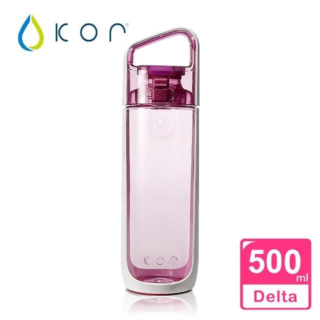 【KORwater】KOR Delta隨身水瓶(粉玫瑰/500ml)