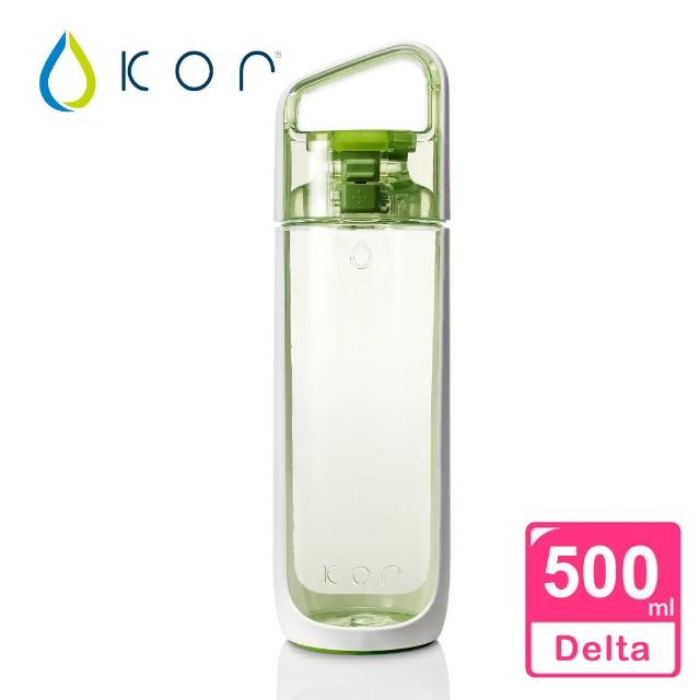 【KORwater】KOR Delta隨身水瓶(樂活綠/500ml)