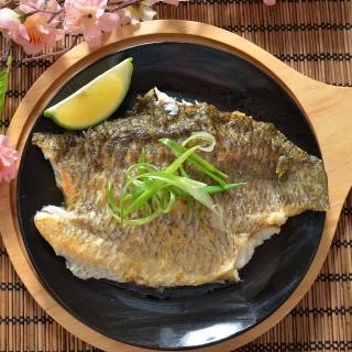 【鮮綠生活】台灣金目鱸魚片(加大量版 340g ±10% 共8片)
