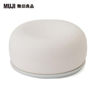 【MUJI 無印良品】芬香石/附盤/白