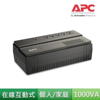 【APC】Easy UPS 在線互動 1000VA/600W(BV1000-TW)