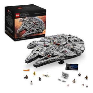 【LEGO 樂高】星際大戰系列 Millennium Falcon 75192 積木 星戰(75192)