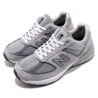 【NEW BALANCE】慢跑鞋 M990GL52E 寬楦 運動 男鞋 紐巴倫 N字鞋 反光 舒適 避震 球鞋 灰 白(M990GL52E)