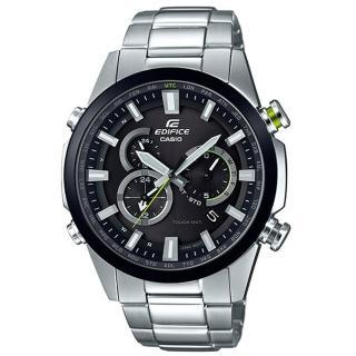 【CASIO 卡西歐】卡西歐 EDIFICE 太陽能電波賽車錶-金(EQW-T640YDB-1A)