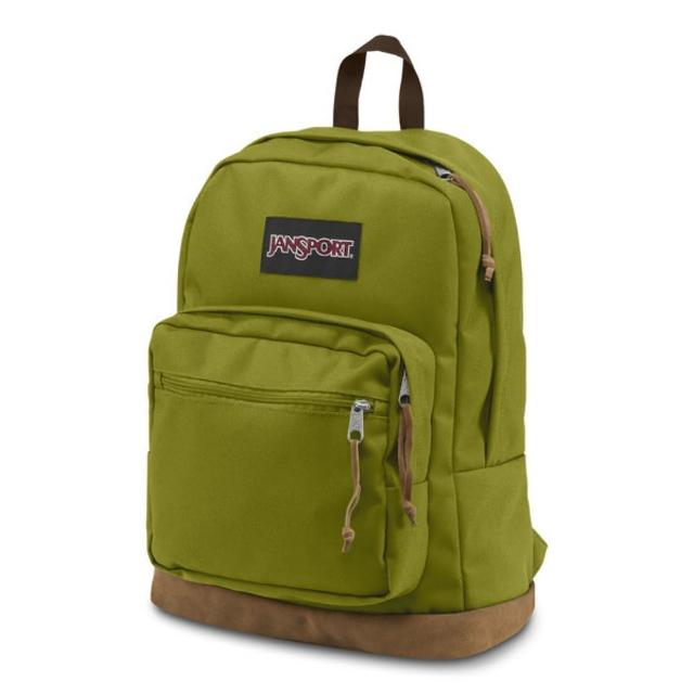 【JANSPORT】校園背包-RIGHT PACK(森林綠)