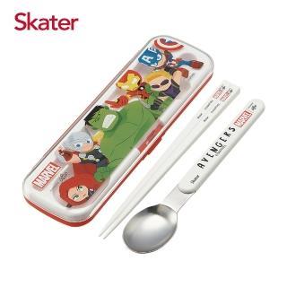 【Skater】二件式餐具組(復仇者聯盟-紅)/