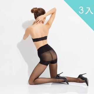 【佩登斯】15D修腹翹臀絲襪 - 微雕型(3入)