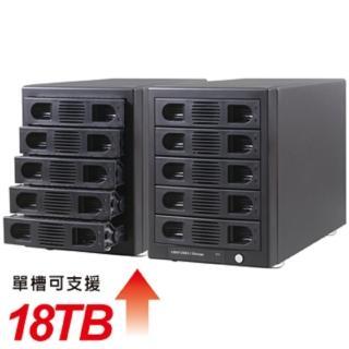 【伽利略】USB3.1 Gen2 五層抽取式硬碟外接盒(35D-U315)
