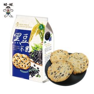 【旺旺-即期品】黑豆米果160G(全素非油炸