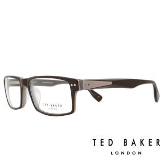 【TED BAKER】倫敦個性都會造型光學眼鏡(TB8068-104·咖啡)