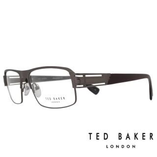 【TED BAKER】英倫簡約風格造型光學鏡框(TB4194-961·黑)