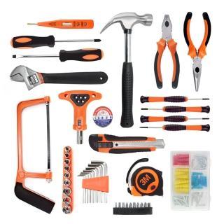 【ETQ USA】108件工具組(專業維修 居家修繕 配置齊全)