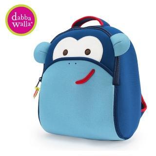 【Dabbawalla】美國瓦拉包 3-8歲 小童後背包-(藍色猴子)