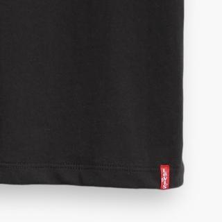 【LEVIS】男款 2件組短袖T恤 / 修身版型 / 黑素T-人氣新品