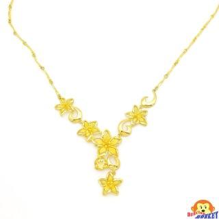 【D.M.】花好月圓黃金項鍊4.05錢