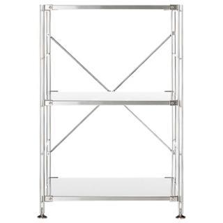 【MUJI 無印良品】SUS不鏽鋼層架組/小(大型家具配送)