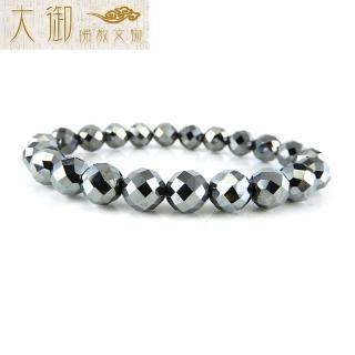 【大御佛教文物】能量太赫茲菱形切面手珠8mm(2353)