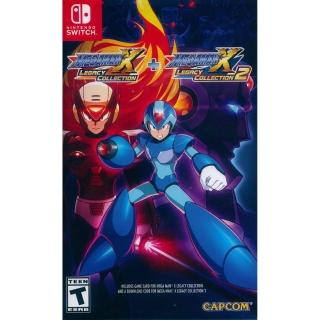 【Nintendo 任天堂】NS Switch 洛克人X週年紀念合集1+2中英日文美版(Megaman X Anniversary Collection1+2)