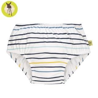 【Lassig】嬰幼兒抗UV游泳尿布褲-線條藍