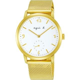 【agnes b.】新款限定法式米蘭帶石英錶(VD78-KLB0I/BN4008X1)