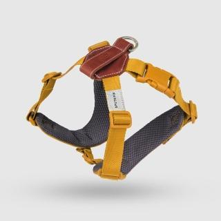 【SPUTNIK 斯普尼克】EXPLORE 寵物胸背帶Harness(黃色M)