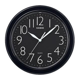 【CASIO 卡西歐】清晰數字典藏圓形掛鐘(IQ-01S-1)