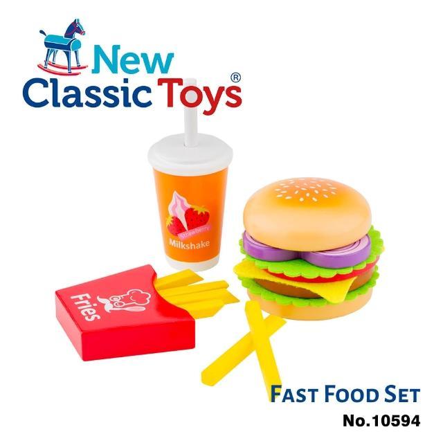 【New Classic Toys】牛肉起司漢堡套餐(10594)