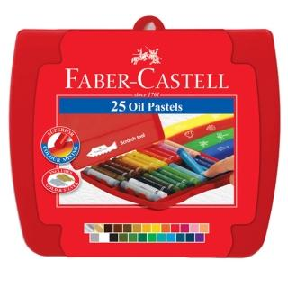 【Faber-Castell】粗芯精裝油性粉彩條25色(124025)