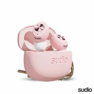 【Sudio】瑞典設計 真 無線藍牙耳機(Tolv / 粉)