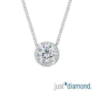 【Just Diamond】薔薇花語系列 GIA 30分 G/VS2 3EX 18K金鑽石項鍊