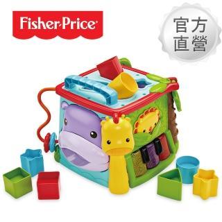 【Fisher-Price 費雪】可愛動物積木盒