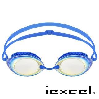 【iexcel】專業光學度數泳鏡 VX-940(蜂巢式 電鍍)