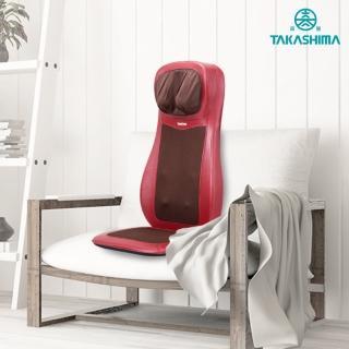 【TAKASIMA 高島】愛舒服巧揉墊 M-6620(溫熱按摩椅墊)